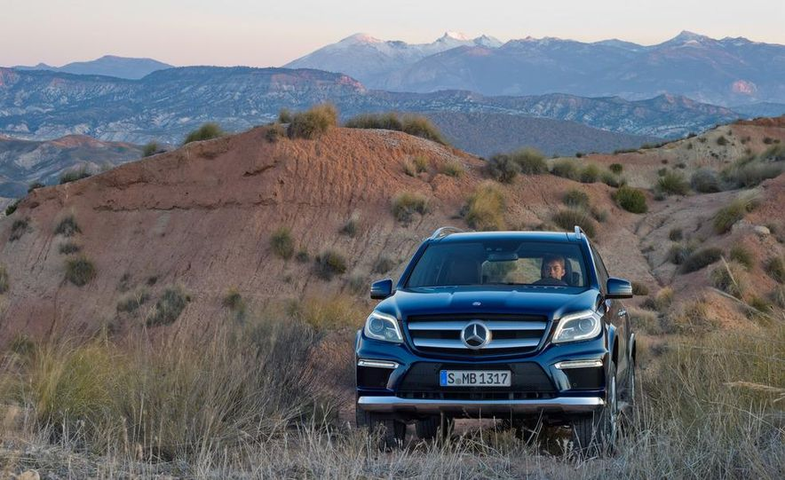 2013 Mercedes-Benz GL350 BlueTec - Slide 18