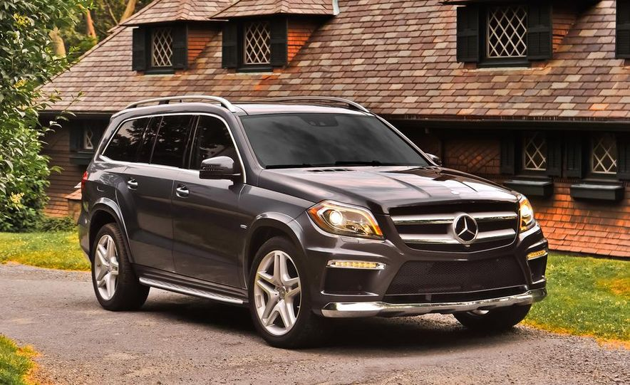 2013 Mercedes-Benz GL350 BlueTec - Slide 34