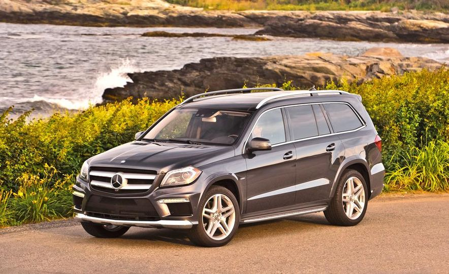 2013 Mercedes-Benz GL350 BlueTec - Slide 36