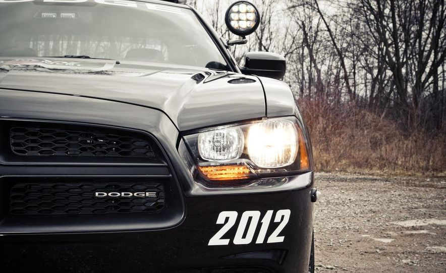 2012 Dodge Charger Pursuit Police Package - Slide 20