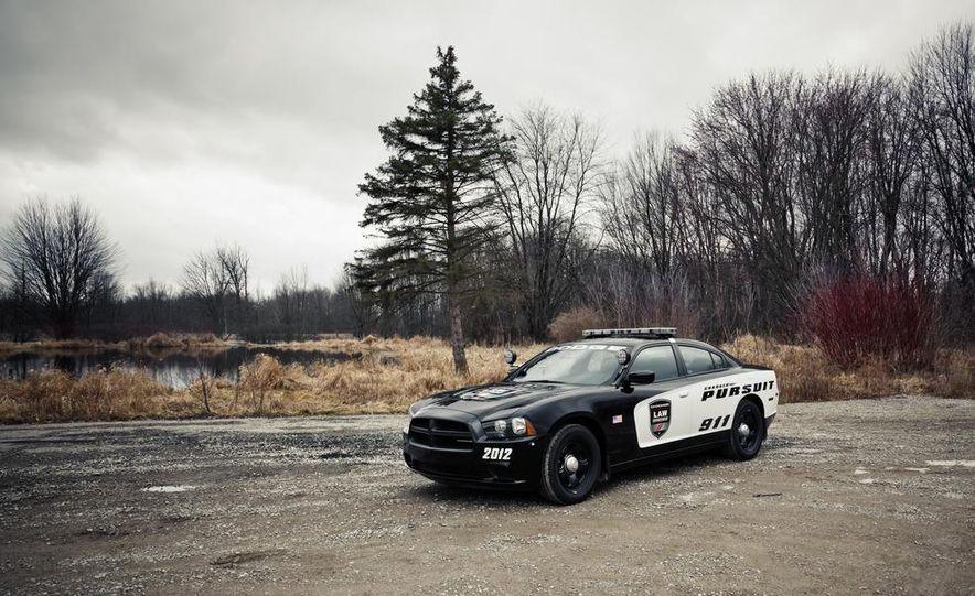 2012 Dodge Charger Pursuit Police Package - Slide 1