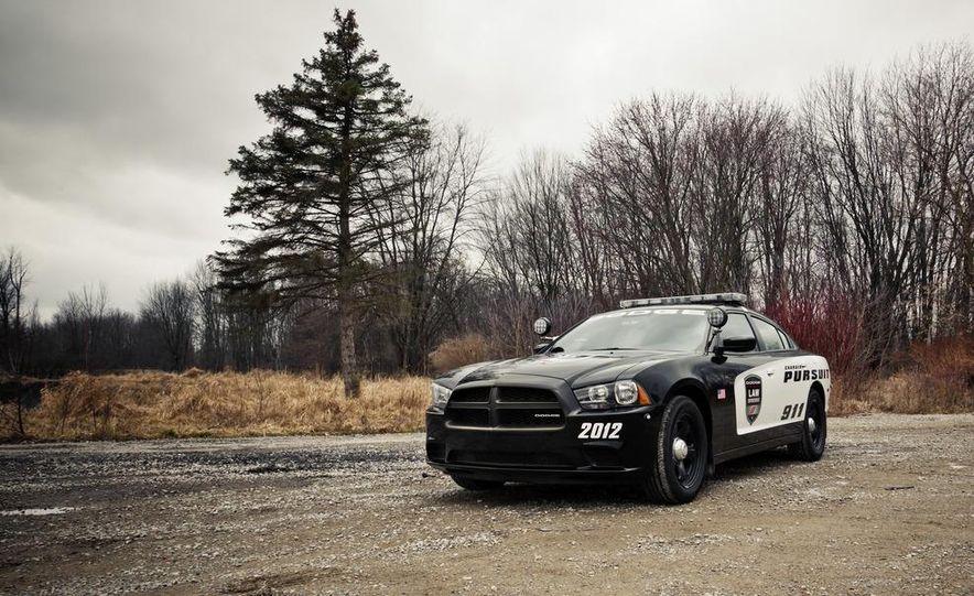 2012 Dodge Charger Pursuit Police Package - Slide 2
