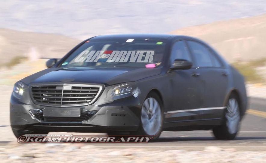 2014 Mercedes-Benz S-class - Slide 13