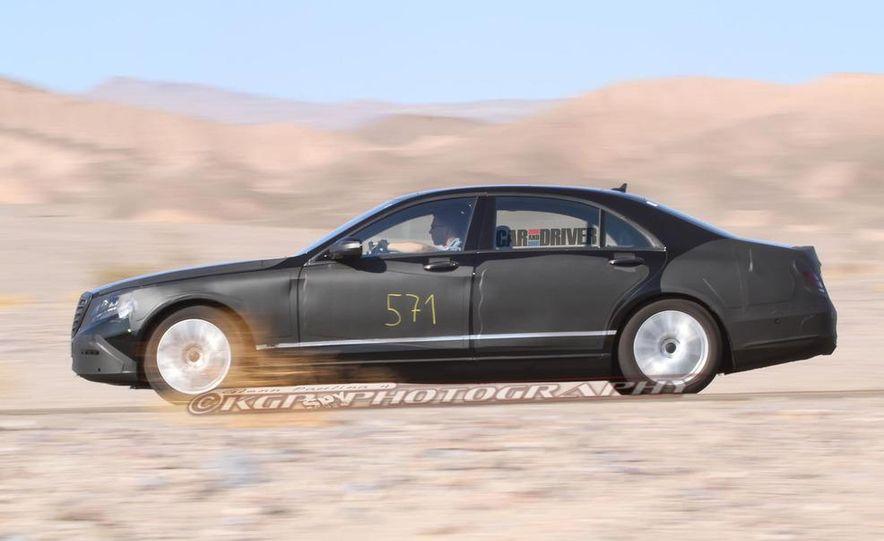 2014 Mercedes-Benz S-class - Slide 15