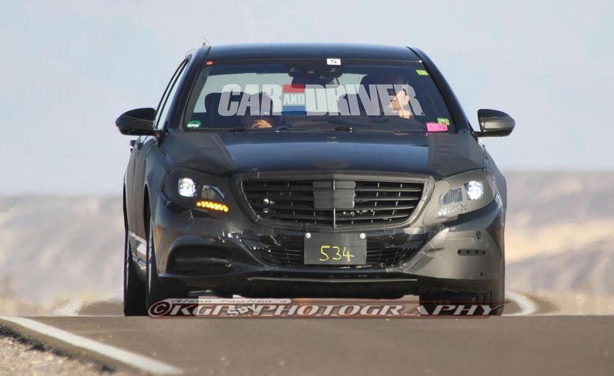 2014 Mercedes-Benz S-class - Slide 17