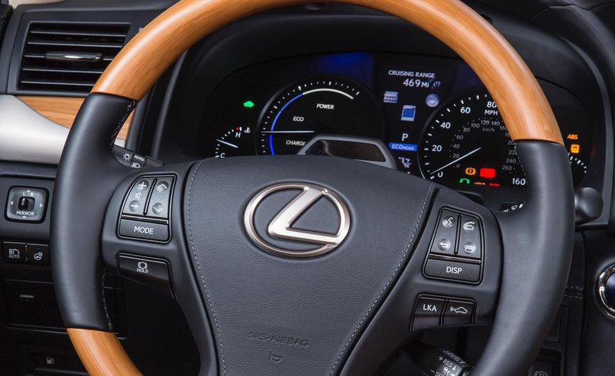 2013 Lexus LS460 AWD - Slide 23