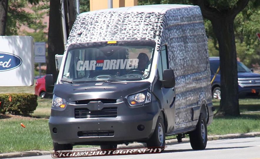 2013 Ford Transit (spy photo) - Slide 1