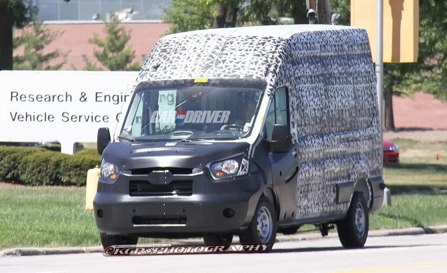 2013 Ford Transit (spy photo) - Slide 2