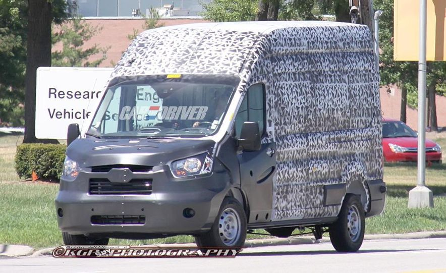 2013 Ford Transit (spy photo) - Slide 3