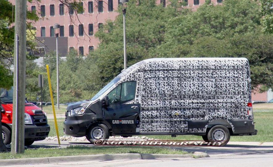 2013 Ford Transit (spy photo) - Slide 6