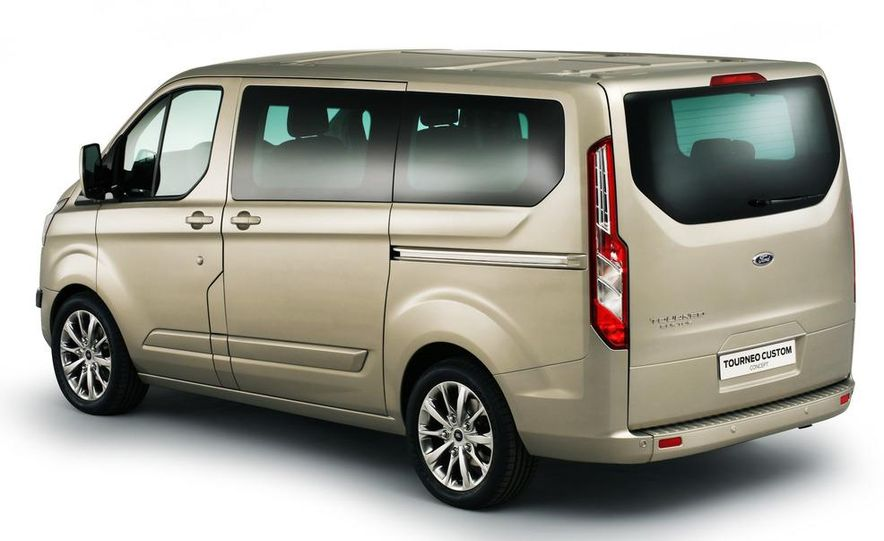 2013 Ford Transit (spy photo) - Slide 16