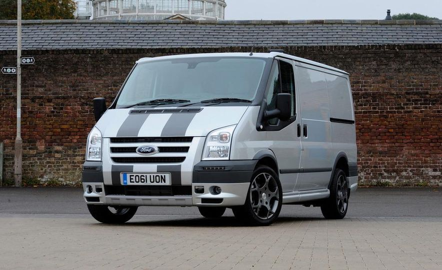 2013 Ford Transit (spy photo) - Slide 18