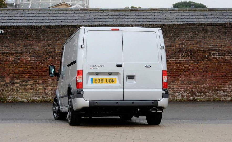 2013 Ford Transit (spy photo) - Slide 19
