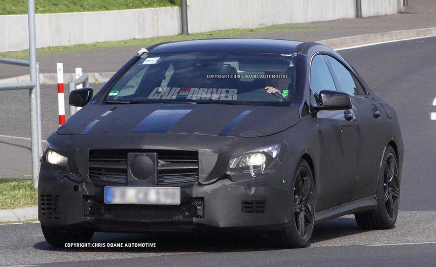 2014 Mercedes-Benz CLA45 AMG (spy photo) - Slide 1