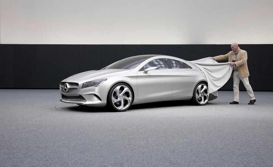 2014 Mercedes-Benz CLA45 AMG (spy photo) - Slide 29