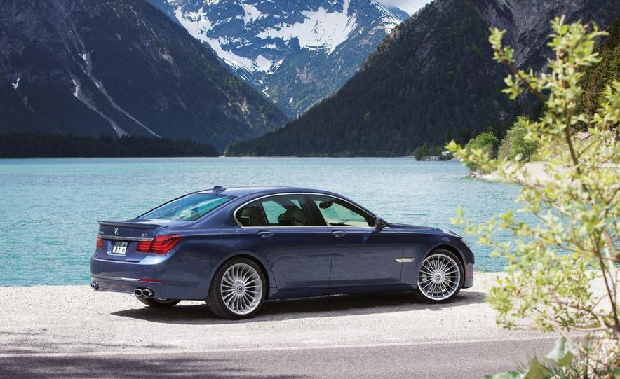2013 BMW Alpina B7 - Slide 35