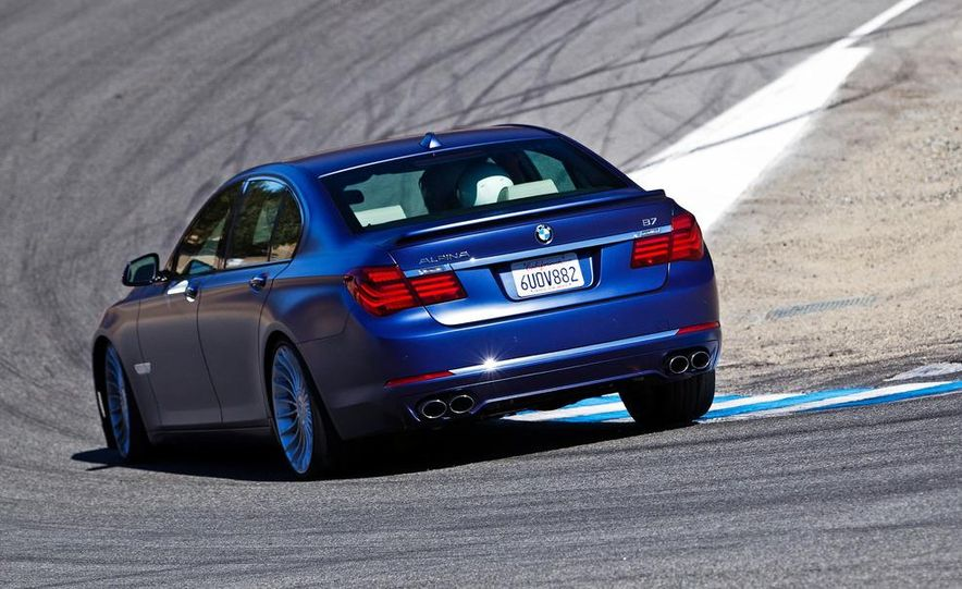 2013 BMW Alpina B7 - Slide 22