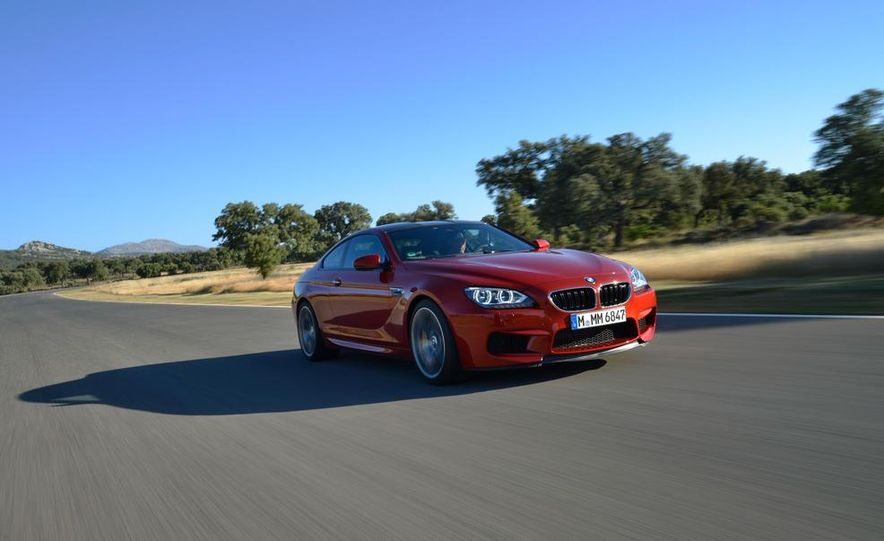 2013 BMW M6 coupe - Slide 107