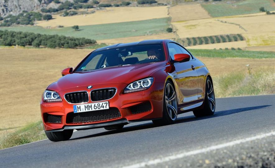 2013 BMW M6 coupe - Slide 112