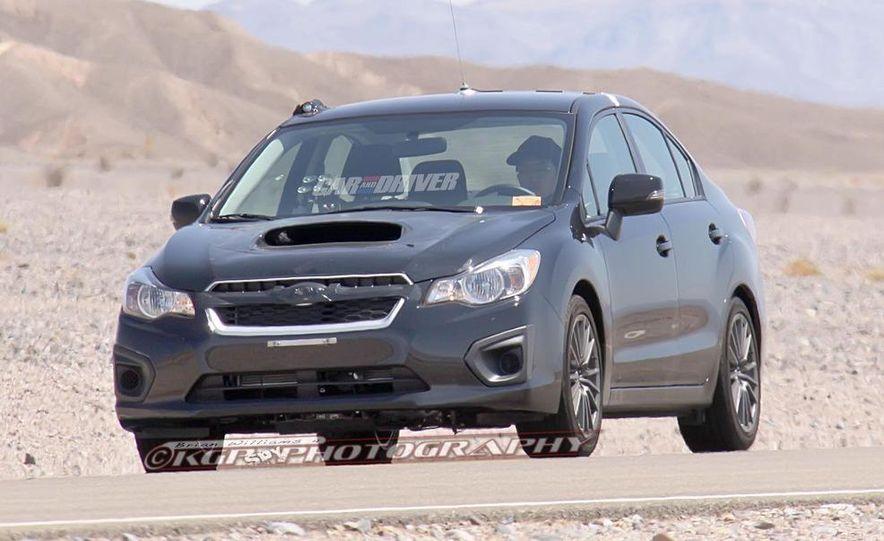 2014 Subaru WRX sedan (spy photo) - Slide 1