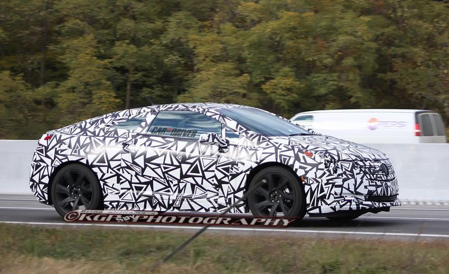 2014 Cadillac ELR (spy photo) - Slide 1
