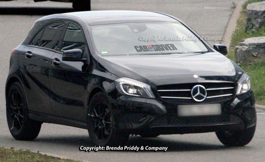 2014 Mercedes-Benz GLA-class (spy photo) - Slide 9