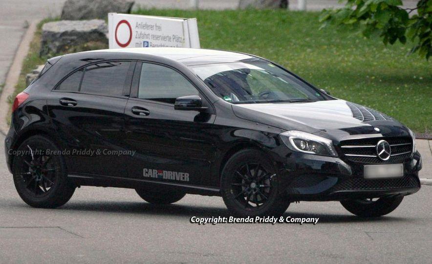 2014 Mercedes-Benz GLA-class (spy photo) - Slide 10