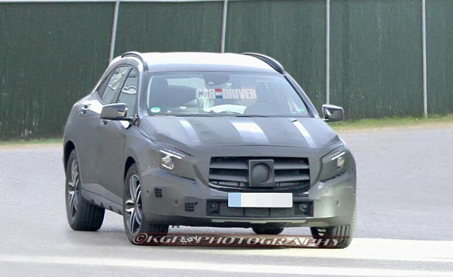 2014 Mercedes-Benz GLA-class (spy photo) - Slide 4