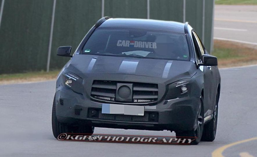 2014 Mercedes-Benz GLA-class (spy photo) - Slide 5