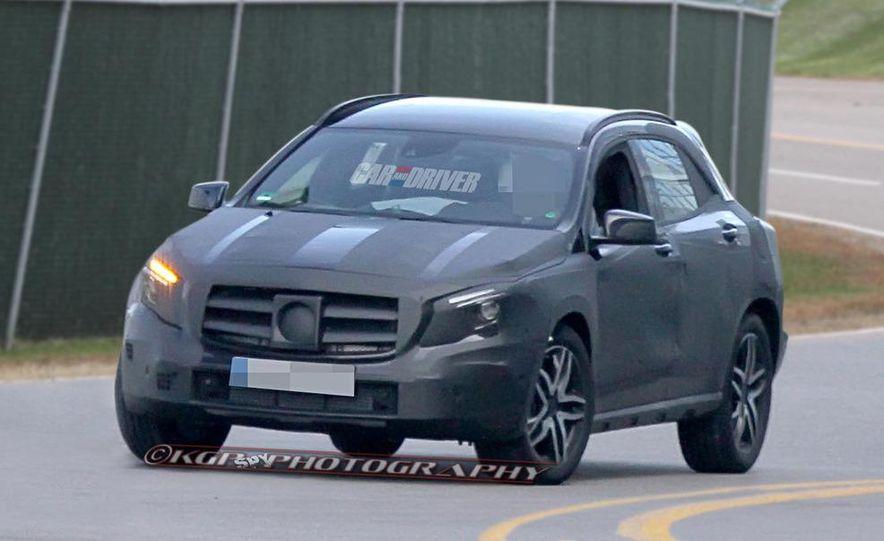 2014 Mercedes-Benz GLA-class (spy photo) - Slide 6