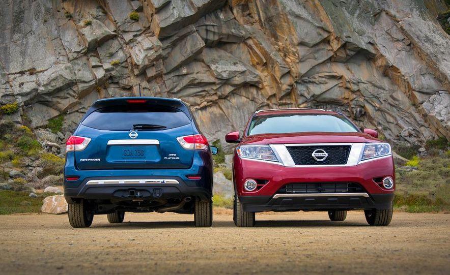 2013 Nissan Pathfinder Platinum and SL 4WD - Slide 1