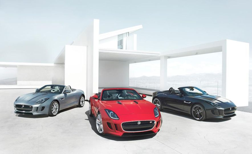 2014 Jaguar F-type V8 S roadster - Slide 36