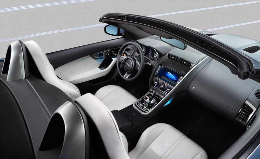 2014 Jaguar F-type V8 S roadster - Slide 52