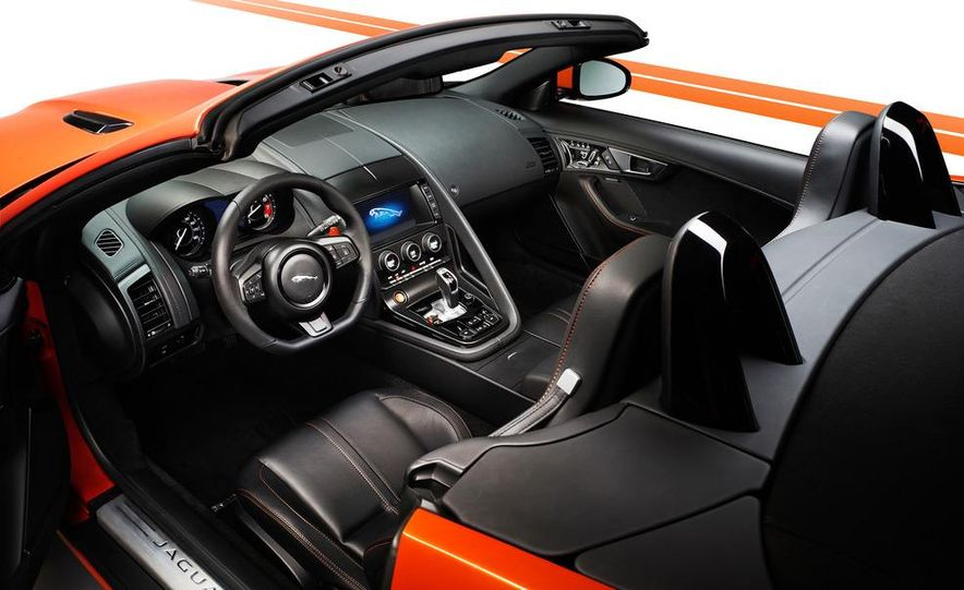 2014 Jaguar F-type V8 S roadster - Slide 77