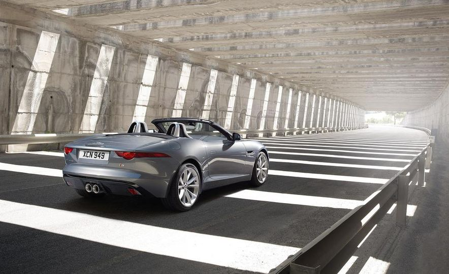 2014 Jaguar F-type V8 S roadster - Slide 42