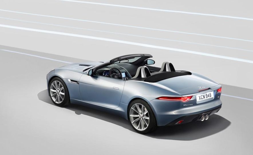 2014 Jaguar F-type V8 S roadster - Slide 45