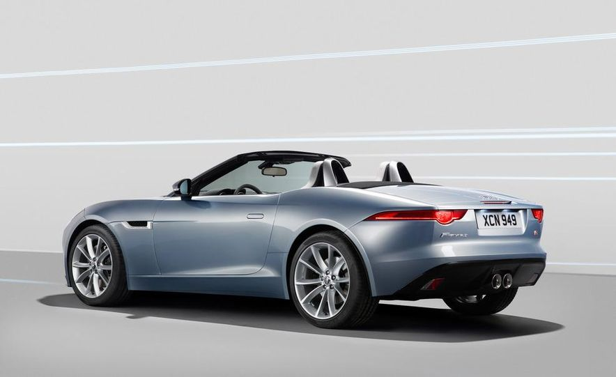 2014 Jaguar F-type V8 S roadster - Slide 46