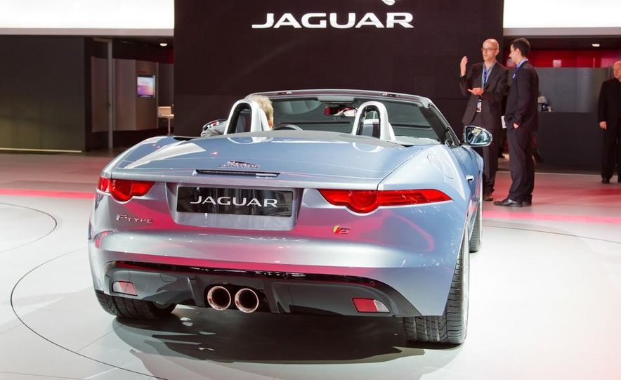 2014 Jaguar F-type V8 S roadster - Slide 30