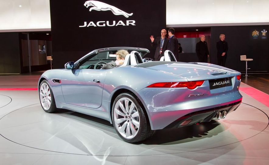 2014 Jaguar F-type V8 S roadster - Slide 32