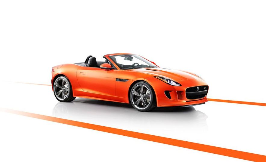 2014 Jaguar F-type V8 S roadster - Slide 69