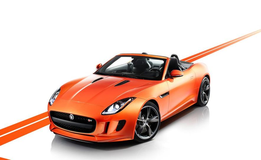 2014 Jaguar F-type V8 S roadster - Slide 70