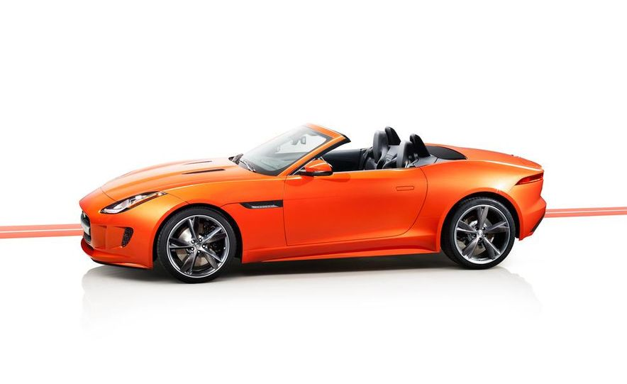 2014 Jaguar F-type V8 S roadster - Slide 71