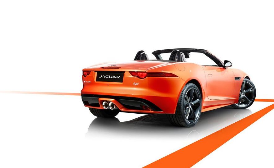 2014 Jaguar F-type V8 S roadster - Slide 72