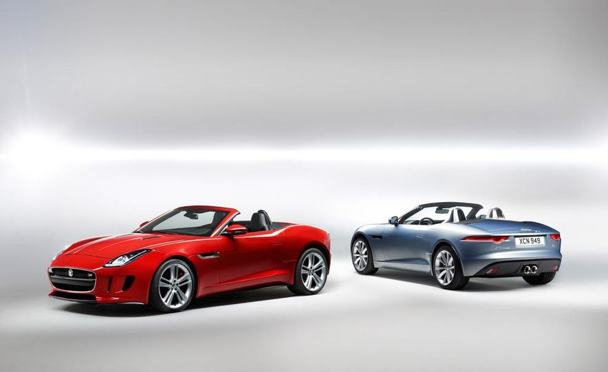 2014 Jaguar F-type V8 S roadster - Slide 37