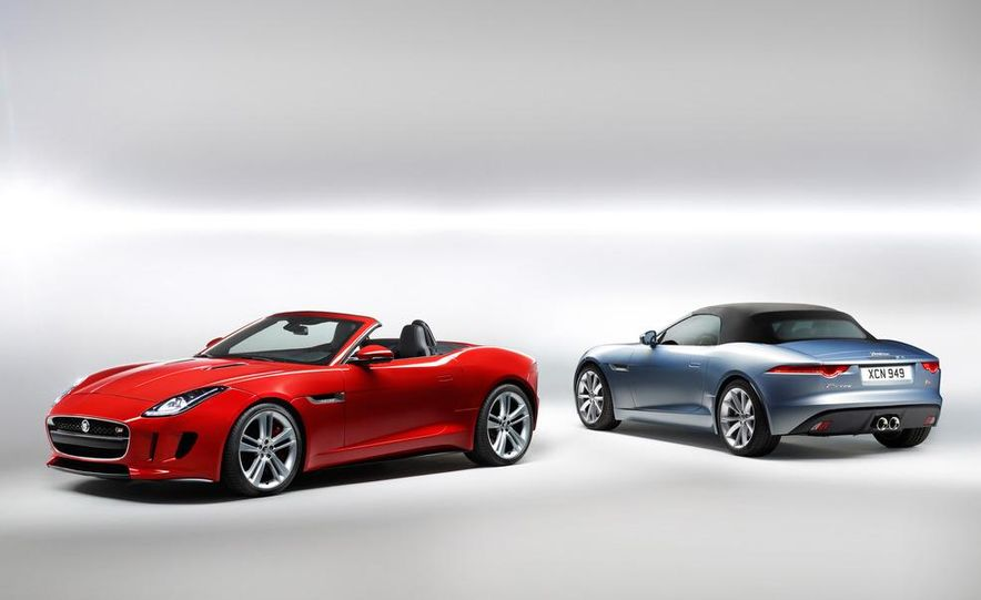 2014 Jaguar F-type V8 S roadster - Slide 38