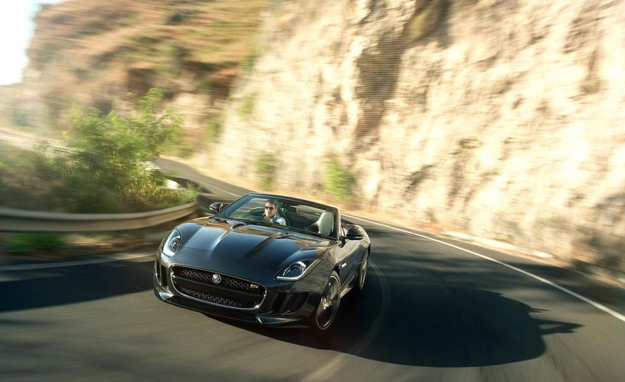 2014 Jaguar F-type V8 S roadster - Slide 54