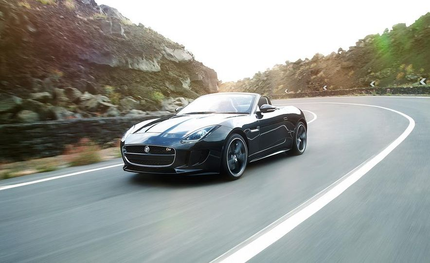 2014 Jaguar F-type V8 S roadster - Slide 55