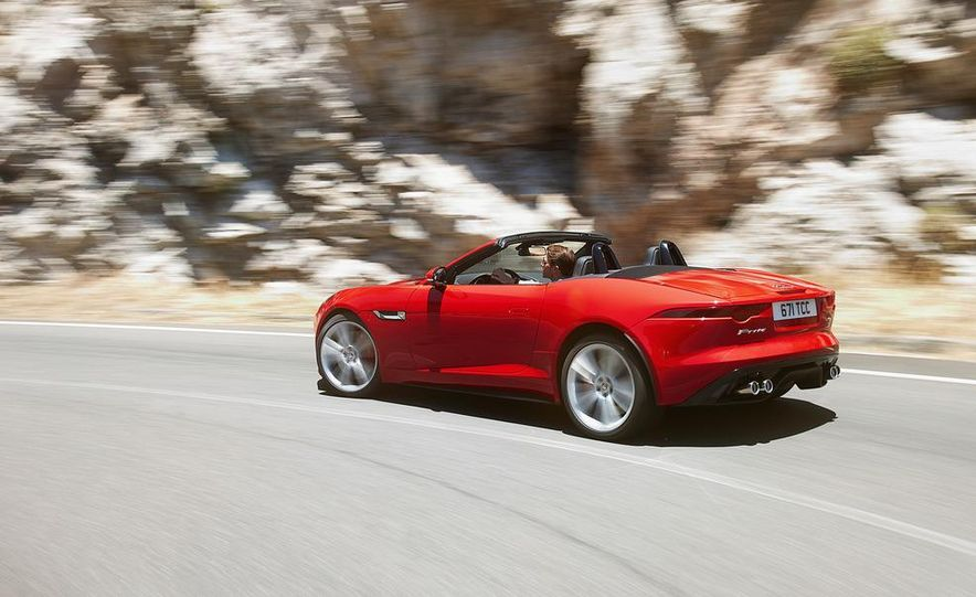 2014 Jaguar F-type V8 S roadster - Slide 63