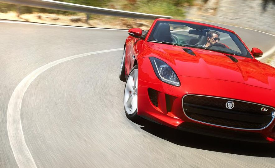 2014 Jaguar F-type V8 S roadster - Slide 64