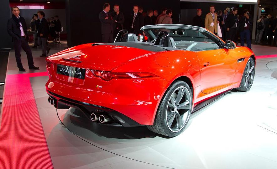 2014 Jaguar F-type V8 S roadster - Slide 3